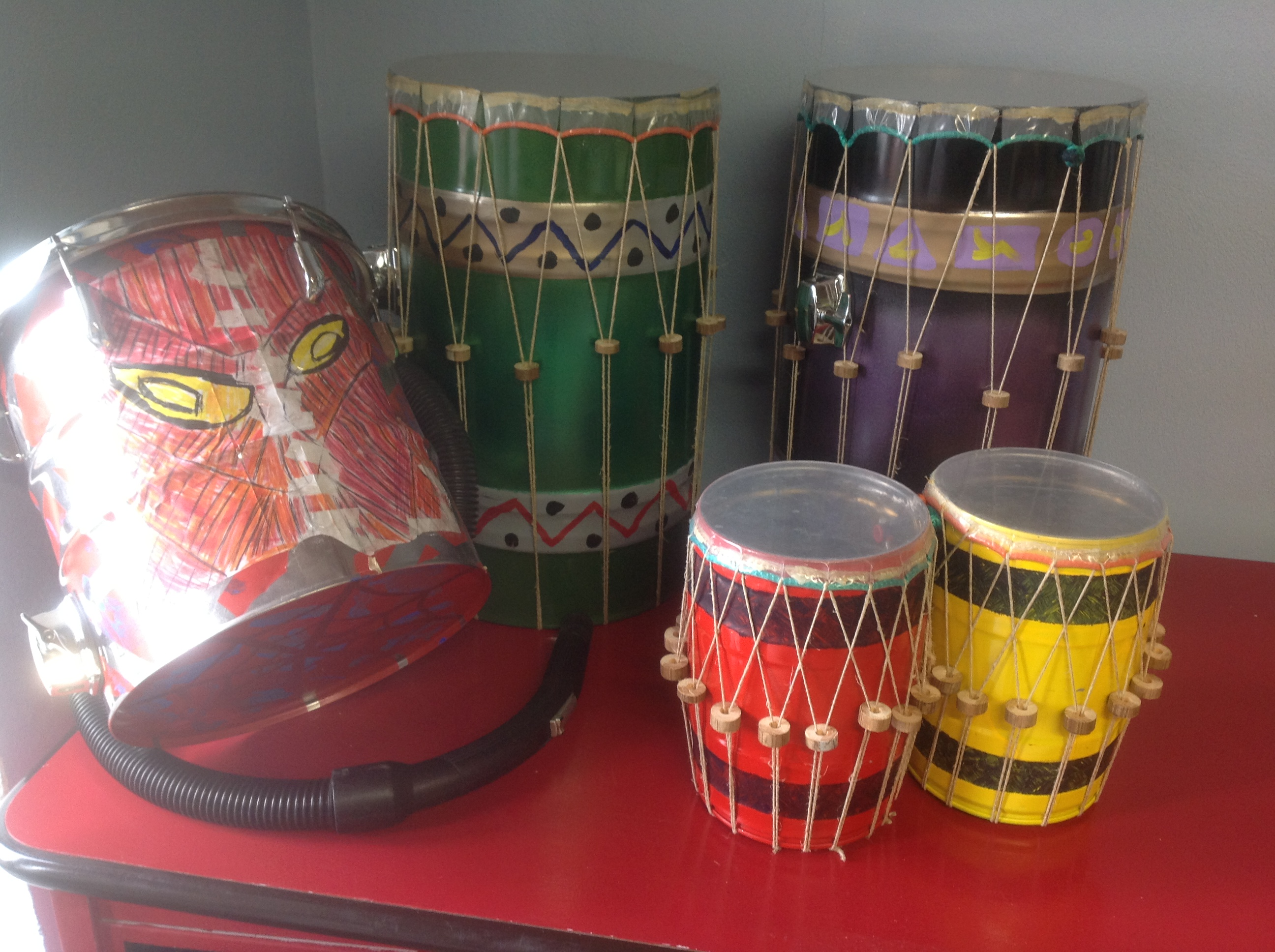 percussioni di riciclo